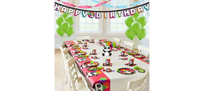 Panda Super Party Kit for 8 Guests