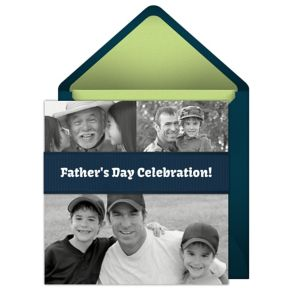 Online Fathers Day Photo Invitations