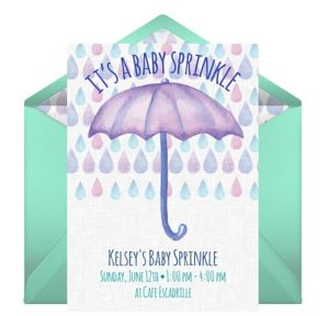 Online Its A Baby Sprinkle Invitations