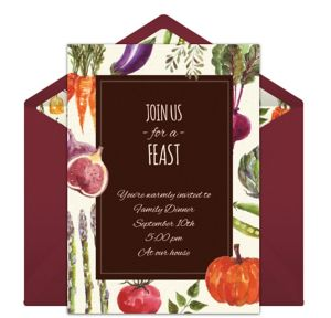 Online Feast Invitations