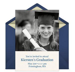 Online The Graduate Photo Invitations