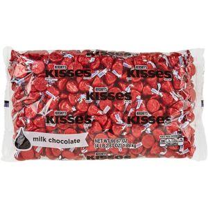 Red Milk Chocolate Hershey's Kisses 410ct