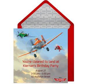 Online Planes Invitations