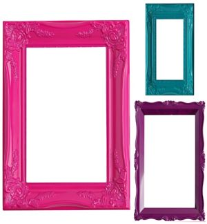 Colorful Photo Booth Frames 3ct