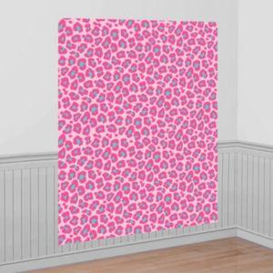 Pink Leopard Scene Setter
