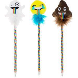 Smiley Rainbow Tongue Pen