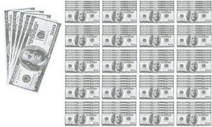 Mini Money Pad 100ct