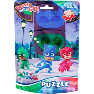 PJ Masks Puzzle Bag 24pc