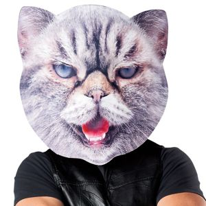 Adult Oversized Mad Cat Mask