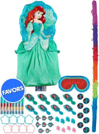 Ariel Pinata Deluxe Kit with Favors - The Little Mermaid
