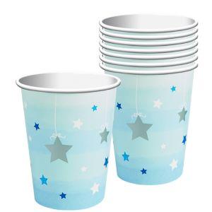 Blue Twinkle Twinkle Little Star Cups 8ct
