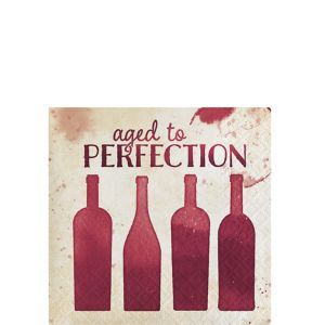 Aged to Perfection Beverage Napkins 16ct