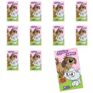Jumbo Kittens & Puppies Stickers 24ct