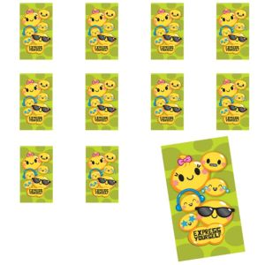 Jumbo Express Yourself Stickers 24ct