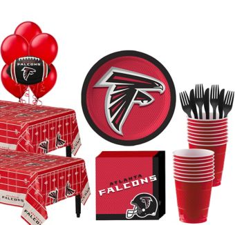 Atlanta Falcons Deluxe Party kit for 36 Guests