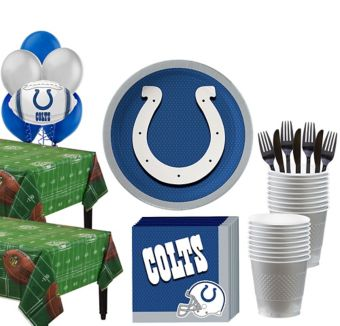 Indianapolis Colts Deluxe Party kit for 36 Guests