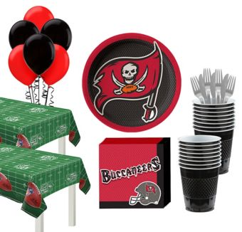 Tampa Bay Buccaneers Deluxe Party kit for 36 Guests