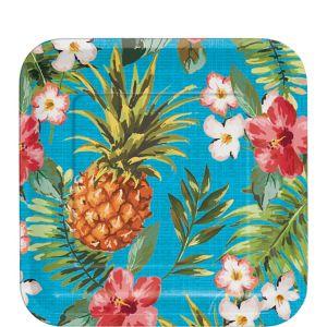 Aloha Hawaiian Dessert Plates 8ct
