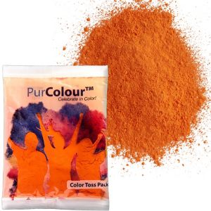 Orange Color Powder