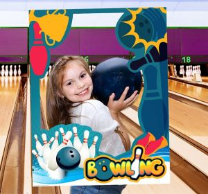 Sports Frame Photo Prop--Bowling