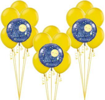 Moon & Stars Baby Shower Balloon Kit
