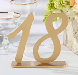 Good As Gold Classic Table Numbers 13-18