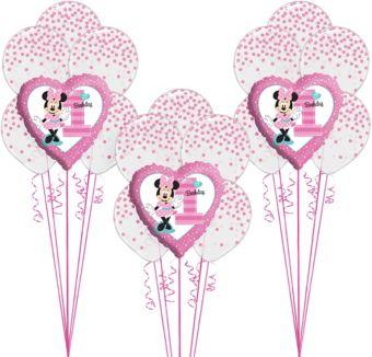 1st Birthday Minnie Mouse Balloon Kit