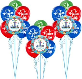 All Aboard 1st Birthday Balloon Kit