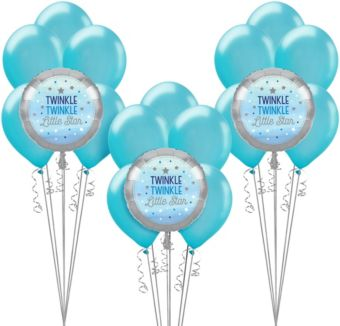 Blue Twinkle Twinkle Little Star Balloon Kit