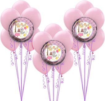 Girls Happi Woodland 1st Birthday Balloon Kit