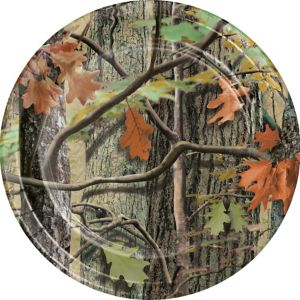 Hunting Camo Lunch Plates 8ct