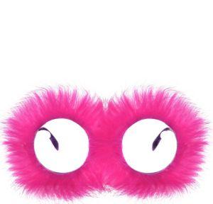 Pink Fur Glasses