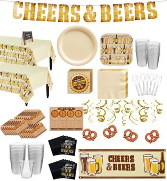 Cheers & Beers Premium Party Kit for 32 Guests