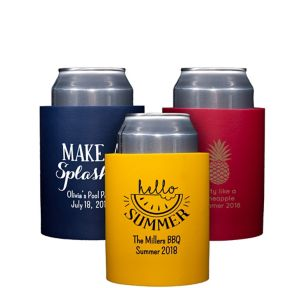 Personalized Summer Can Coozies