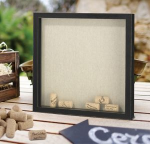 Signing Corks Shadow Box Frame