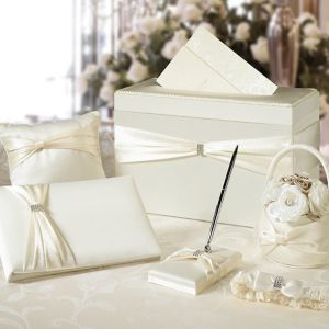 Ivory Wedding in a Box 6pc