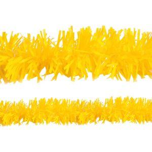 Yellow Tinsel Garland