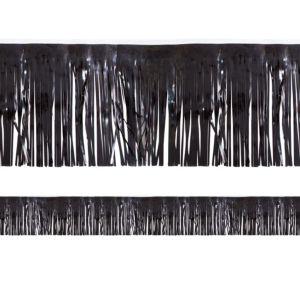 Black Fringe Decoration