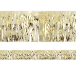 Metallic Gold Tinsel Fringe