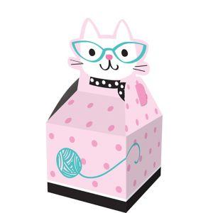 Purrfect Cat Favor Boxes 8ct