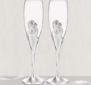 Sparkling Love Champagne Flutes 2ct