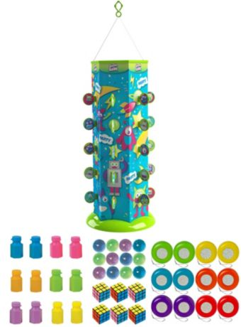 Space Monster Goodie Gusher Pinata Kit with Small Favors
