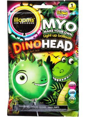 Illooms Light-Up Dinosaur LED Balloon