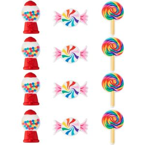 Wilton Dylan's Candy Bar Classic Candies Icing Decorations 12ct