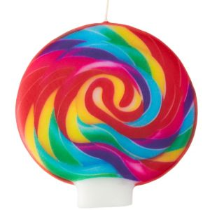Wilton Dylan's Candy Bar Lollipop Candle