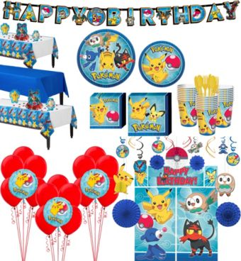 Pokemon Tableware Ultimate Kit for 24 Guests
