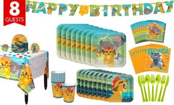 Lion Guard Tableware Party Kit for 8 Guests