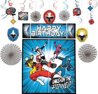 Power Rangers Ninja Steel Decoration Kit