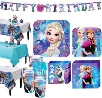 Frozen Tableware Party Kit for 24 Guests