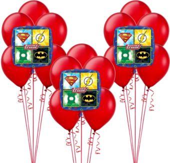 Justice League Balloon Kit